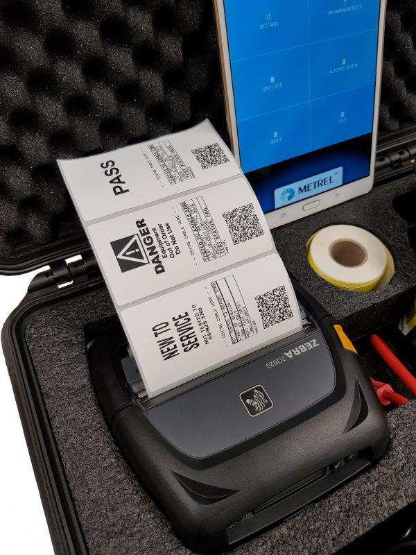 Appliance tester Delta kit ZQ520 printer