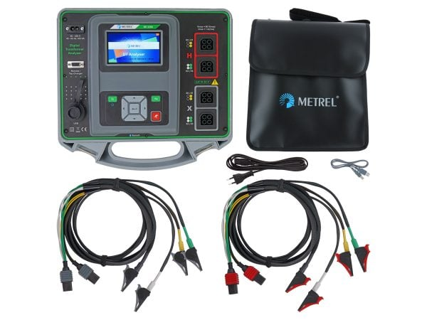 Metrel MI 3280 Digital Transformer Analyser Standard Set